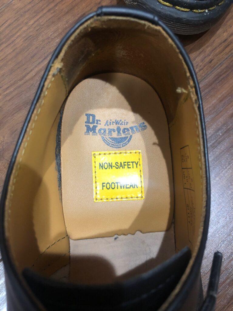 Non-safety footware